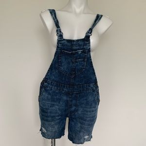 FOREVER 21 Jeans Overalls Shorts Jumper Stretch S